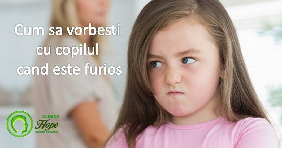 crize de furie la copii