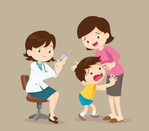frica copilului de doctor