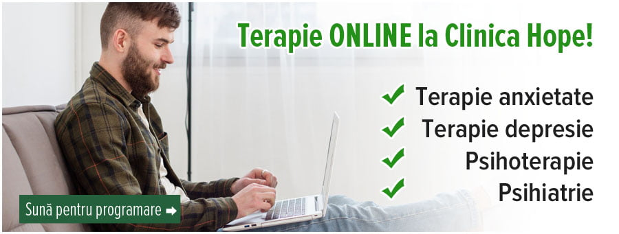 terapie online clinica hope bucuresti