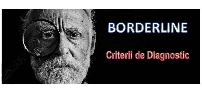 criterii de diagnostic borderline